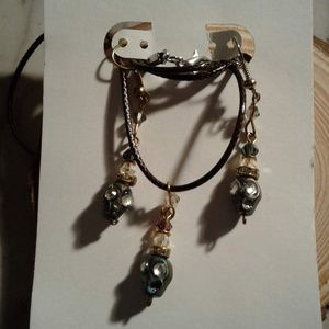 skull jewelry set $3 each or 20 for $12